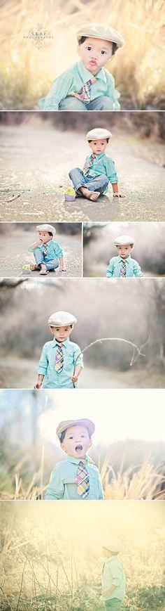 Little boy poses (2) :-)