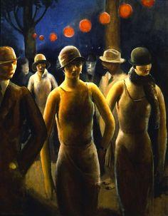 Carnival, Guy Pène Du Bois, 1927