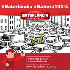 Bom dia Motorista! Café forte e muita paciência no trânsito. Se der pepino na Bateria, liga pra gente! #Baterlândia #Bateria100% #ImaginemaCopa