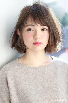 When It comes to Bob hairstyles, you must try some different style for it. Most of the celebs are styling Bob Hairstyles With Fringe, and they love it for long. Asian Short Hair, Short Hair With Bangs, Asian Hair, Girl Short Hair, Short Hair Cuts, Bobbed Hairstyles With Fringe, Messy Bob Hairstyles, Pretty Hairstyles, Shot Hair Styles