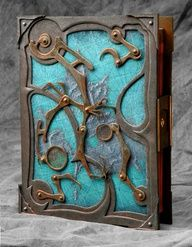 Steampunk Book - Smakeupfx