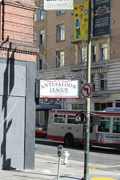 Anti-Saloon League in the Tenderloin District by Ray Cunningham, via Flickr
