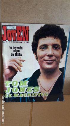 REVISTA MUNDO JOVEN. Nº 45 - 1969. TOM JONES EL MAGNÍFICO / POP IBIZA / YOKO ONO, ETC...