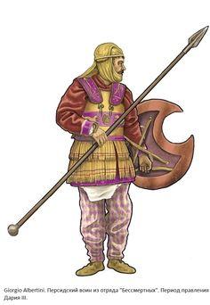 Achaemenid Persian warrior