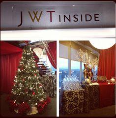 Holiday Party December 2012 #jwtinside #jwtinsideatl www.jwt.com/jwt+inside