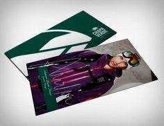 Tarjetas // Chapa Verde Ski Team