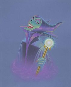 Beautifully Evil: By Manuel Hernandez, Disney Fine Art
