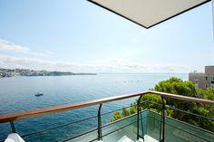 Dieses Penthouse in erster Meereslinie in Top-Lage bei Palma bietet einen sensationellen Meerblick über die gesamte Bucht von Palma und eine grosszügige - Kaufpreis 890.000 Euros