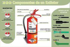 Componentes de un Extintor.