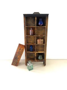 Wood Drawer or Curio Cabinet  or a Wood Wall Shelf by KimBuilt, $45.00