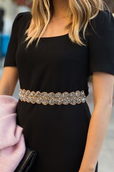 This belt, a great find by fashion blogger Julia Engel.
