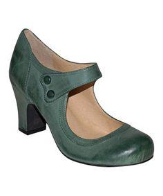 Look what I found on #zulily! MOJO MOXY Jade Hampshire Leather Mary Jane by MOJO MOXY #zulilyfinds