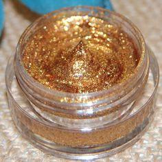 GOLD GLITTER- All Natural, Vegan Glitter Makeup Gel by AddictiveCosmetics on Etsy https://www.etsy.com/listing/121038128/gold-glitter-all-natural-vegan-glitter