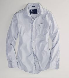 Men's gray shirt from American Eagle