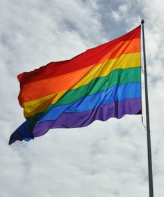 The rainbow flag in SF's Castro District.