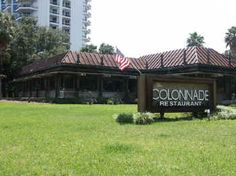 """The Colonnade Seafood Restaurant on Bay Shore Blvd ...""""The Nade"""" ... We dined here many times circa 1969-71"""