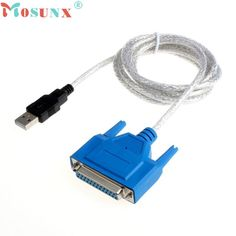 Good Sale  USB 2.0 To Parallel IEEE 1284 Centronic 25 Pin DB25 Printer Adapter Cable Free shipping & wholesale Jan 5 #Affiliate