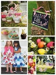 A Sunday morning with: Come organizzare una caccia alle uova di Pasqua: kit stampabile