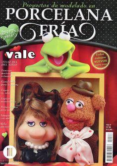 Como hacer los  Muppets  en porcelana fría