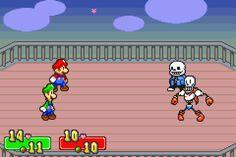 The Skeleton Bros vs the Mario Bros ...