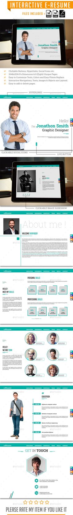 Interactive Pdf Indesign Template