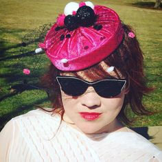 Cigarette Girl Pillbox Hat by StarlingMillinery on Etsy