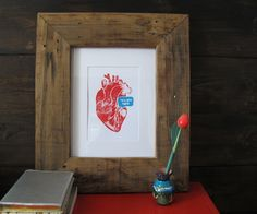 Make Dad a handmade picture frame (or shadow box) for Father's Day. Diy Gifts For Dad, Diy Father's Day Gifts, Great Father's Day Gifts, Father's Day Diy, Easy Gifts, Diy Christmas Gifts, Creative Gifts, Handmade Picture Frames, Daddy Day
