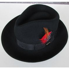 81214cbd0e7c7 LIHUA Brand 100% wool derby felt billycock hats winter fashion Bowler Hat  wool fedora trilby hats for men .2017 New Feather Hat-in Fedoras from Men s  ...