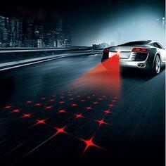 안티 충돌 리어 엔드 자동차 레이저 꼬리 12 볼트 led 자동차 안개 빛 자동 브레이크 자동 주차 램프 양육 자동차 경고 자동차