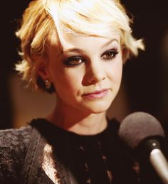 Pixie Cropped - though every haircut is adorable on her, hard to judge the cut alone.