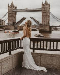 Miss Georgie is a sleek silhouette of superb class and sophistication. She has no sharp edges, except her edge for beauty, for she is completely smooth. Smooth, Silhouette, Bridal, Wedding Dresses, Beauty, Fashion, Bride Dresses, Moda, Bridal Gowns