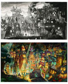 Mais uma incrível galeria de The Book of Life, agora por Paul Sullivan Android Jones, Anna Cattish, Frank Frazetta, Samurai Jack, Wall E, Studio Ghibli, Thundercats, Book Of Life, Art Director