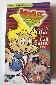 McGee & Me Take Me Out To The Ballgame Baseball VHS #8 Faith Lesson