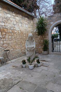 Mother Teresa Statue - Supetar, Island of Brač