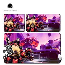 SJLUHS Overwatch TORBJORN large Gaming Mouse Pad High Quality Expansion Mousepad Profession For Overwatch Free Shipping