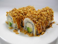 Finally found a kind of sushi that I like only to find out it's the most fattening!  Of course!