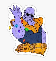 Thanos is a fictional character playing the lead negative role in the movie series of avengers. He become trending and viral right after the movie of Avengers:Infinity war. Marvel Dc Comics, Heros Comics, Marvel Funny, Marvel Art, Marvel Memes, Marvel Cartoons, The Avengers, Thanos Avengers, Marvel Heroes