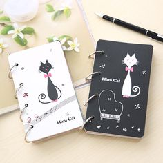 Stationary Store, Diary Book, Korean Stationery, Cats, Creative, Gift, Daily Journal, Gatos, Kitty Cats