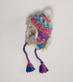 cb7badc4cd4 AEO Colorful Trapper Hat I would totally wear this with a cable knit  sweater with dark jeans and Ugg boots