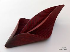 María Oriza, think about folding soft slabs ( without trapping air pockets!) http://www.mariaoriza.com/HomePage/English/HomeIV.html
