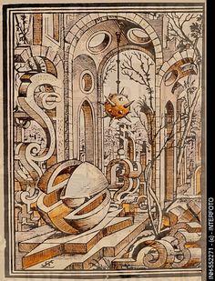 Geometria et Perspectiva by Lorenz Stoer, Augsburg, 1567