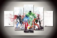 Printed the Avengers Modern Art Painting Children's Room Decor Print Poster Picture Canvas Art Picture HD Print Avengers Painting, Avengers Art, Avengers Poster, Canvas Frame, Canvas Wall Art, Canvas Canvas, Canvas Size, Painting Canvas, Spray Painting