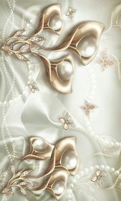 Cool Pictures For Wallpaper, Aesthetic Iphone Wallpaper, Butterfly, Brooch, Deco, Elegant, Frames, Gold, Android