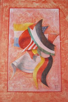 "Vasto Gallery: Paolo Dongu, ""Bandiere"", 1994."