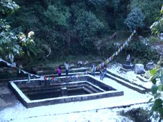 The starting point of the Bagmati River, inside the Shivapuri National Park. The walk to the Shivapuri Peak is a challenging walk uphill from Budhanilkantha. On the way you will have to work yourself up many stairs. The nature and views during your walk are however more than worth the effort.