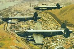 Shakeltons fly over Green Point in Air Force Day, Royal Air Force, Le Mans, Avro Shackleton, South African Air Force, Army Day, Tactical Survival, The Old Days, Aviation Art