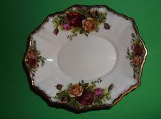 Royal Albert Trinket Dish Bone China Old by SevenSistersBooks