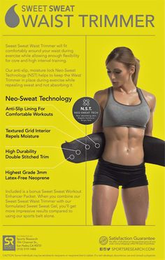 Sweet Sweat Premium Neoprene Waist Trimmer for MeN & Women| Includes Free Sample of Sweet Sweat Workout Enhancer! - See more at: http://health.florentt.com/health-personal-care/sweet-sweat-premium-neoprene-waist-trimmer-for-men-women-includes-free-sample-of-sweet-sweat-workout-enhancer-com/