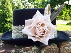 High Tea Top Hat by GypsyandTheHatter on Etsy