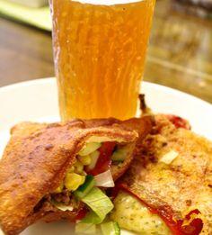 Meal inspired again by #Reyes and #thecurseoftenthgrave by @author_darynda_jones #charleydavidson #chilesrellenos #stuffedsopapillas #blogpost #tasteoftales